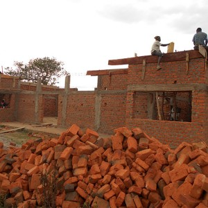 Construction of Agro-Processing Shelter Maize mill