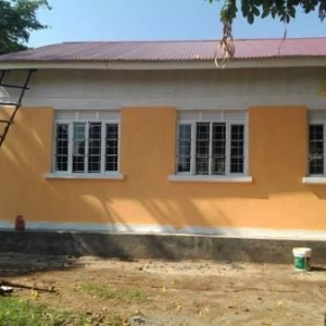 The construction of Low cost Teachers' Accommodation in Mukondo