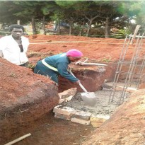 Construction of staff accommodation House at Bujubuli
